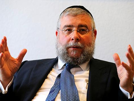 Präsident der Konferenz der Europäischen Rabbiner (CER), Pinchas Goldschmidt