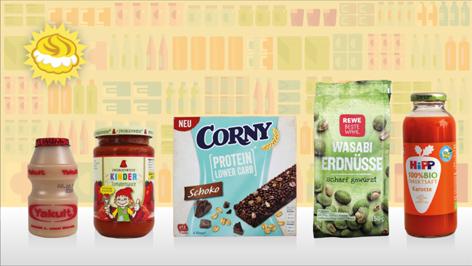 Die nominierten Produkte