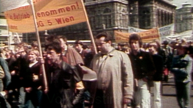 Demo gegen AKW Zwentendorf