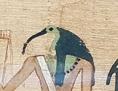 Der Ibis-köpfige Gott Thot