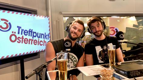 Pizzera und Jaus im Treffpunkt Österreich