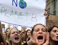 Schülerinnen bei einer Klimademonstration in New York im September 2019