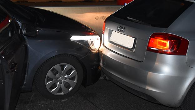 Unfallfahrzeuge auf der A10