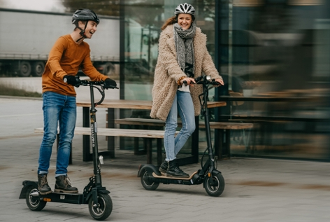E-Scooter im Test