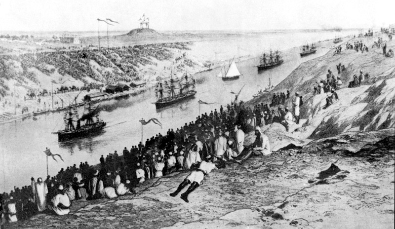 Gemälde der Eröffnung im November 1869