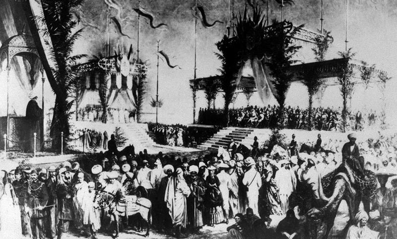 Eröffnungsfeier Suezkanal 1869