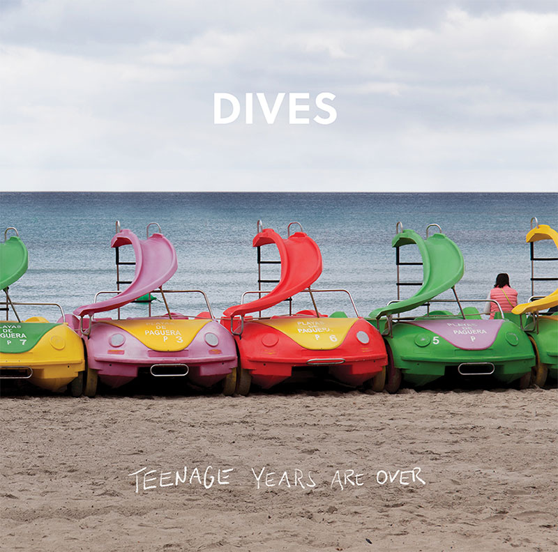"""Plattencover von Dives """"Teenage Years Are Over"""""""
