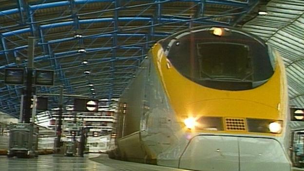 Eurostar Jungfernfahrt