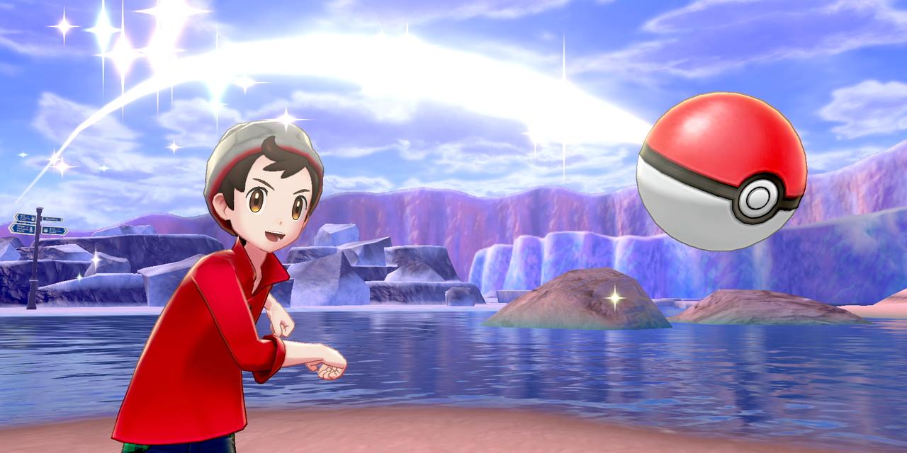 Screenshot Pokémon Schwert und Schild