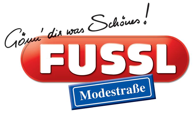 Fussl Modestraße Schriftzug