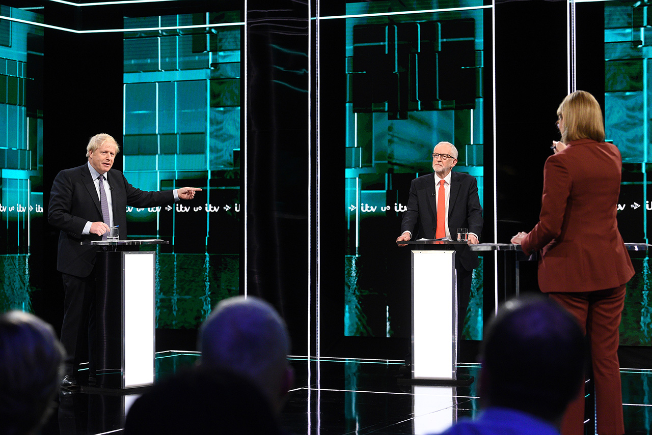 """Johnson v Corbyn: The ITV Debate"