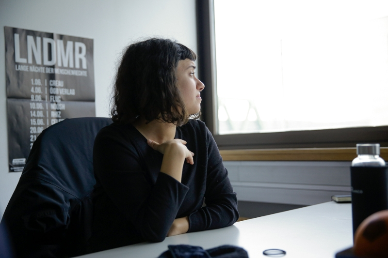 Tara Zarza, Sozialarbeiterin bei PROSA