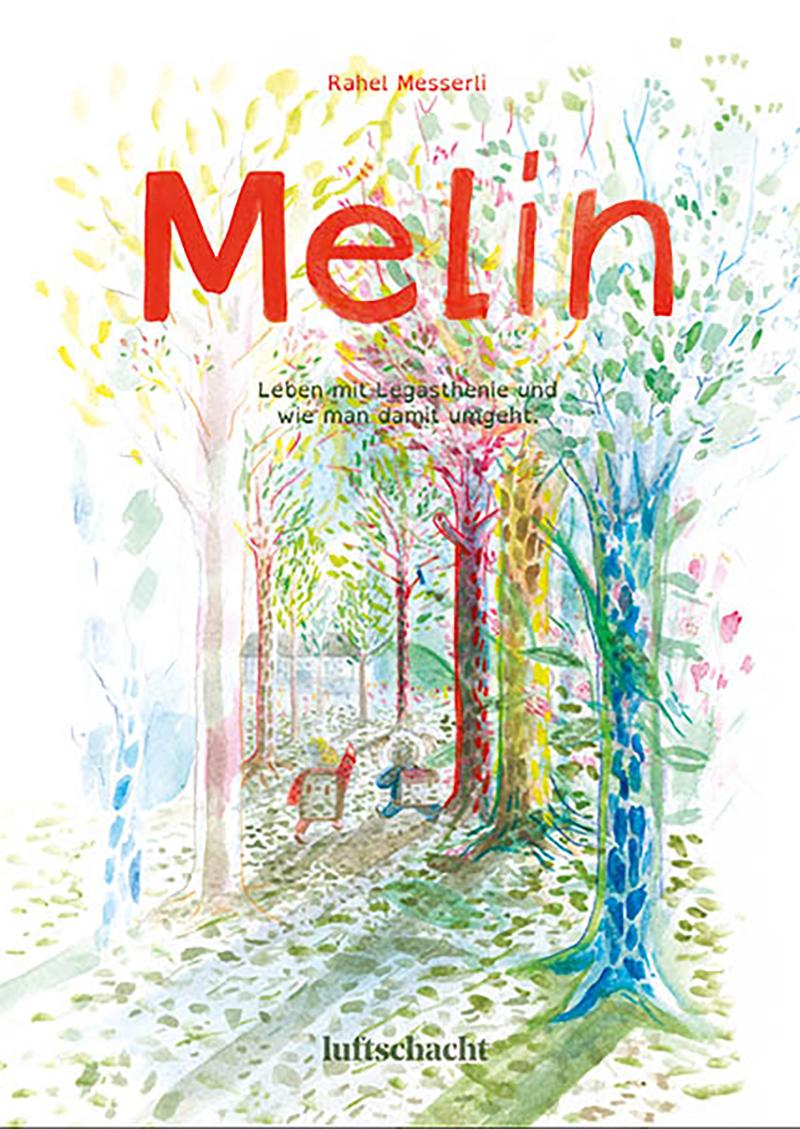 Comic-Cover: zwei Kinder im Wald