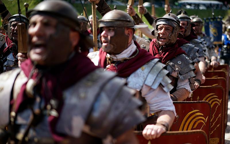 Antikrömische Folklore im heutigen Rom