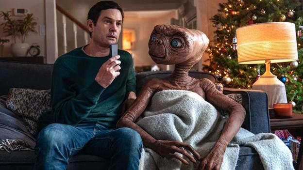 E.T. und Elliott für Werbespot endlich wiedervereint