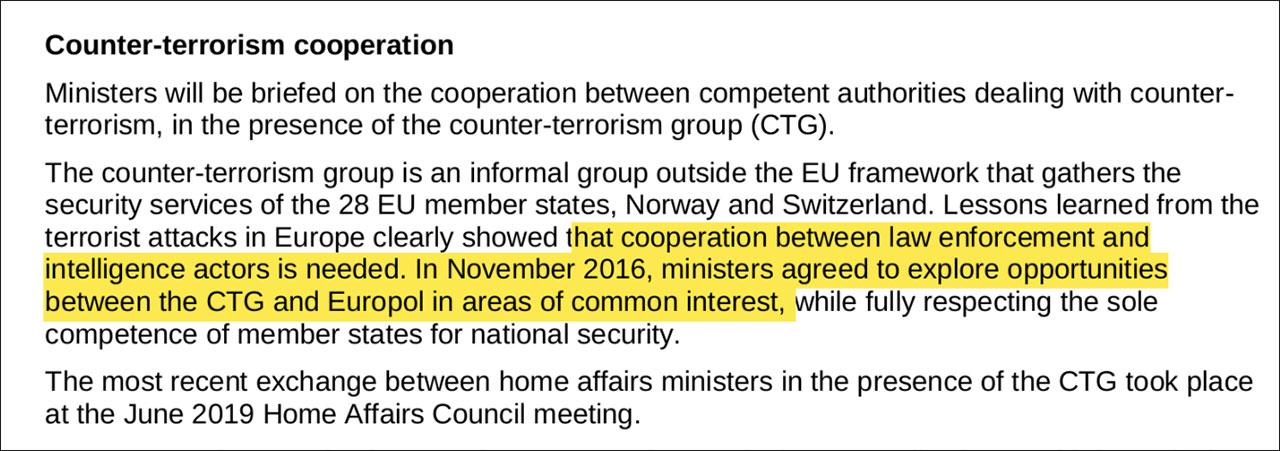 EU Ministerrat Agenda