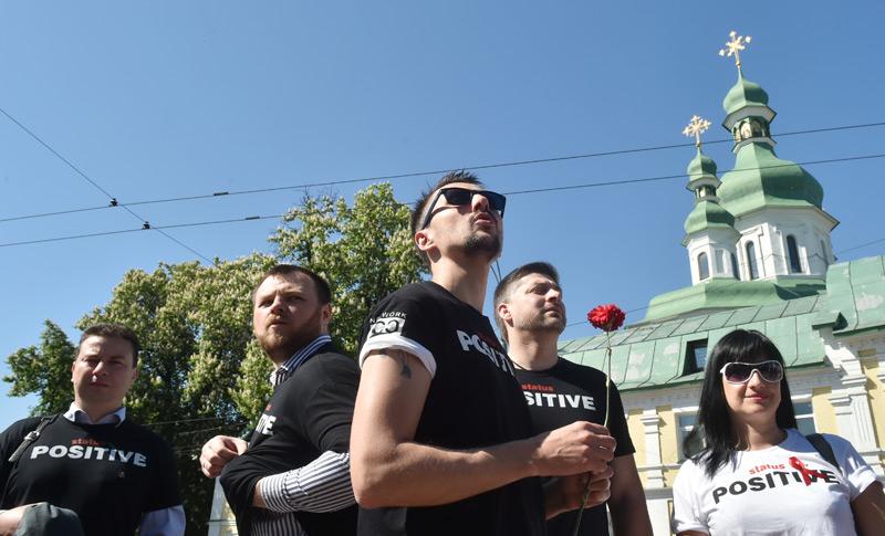 HIV-Infizierte in Kiew