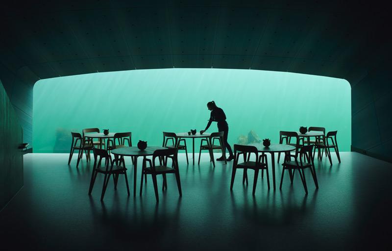 Hotel unter Wasser, Speisesaal