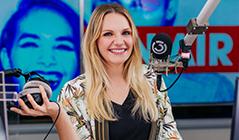 Lisa Hotwagner im Ö3-Studio