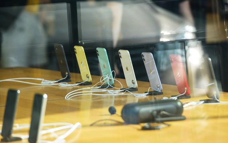 Iphones im Geschäft