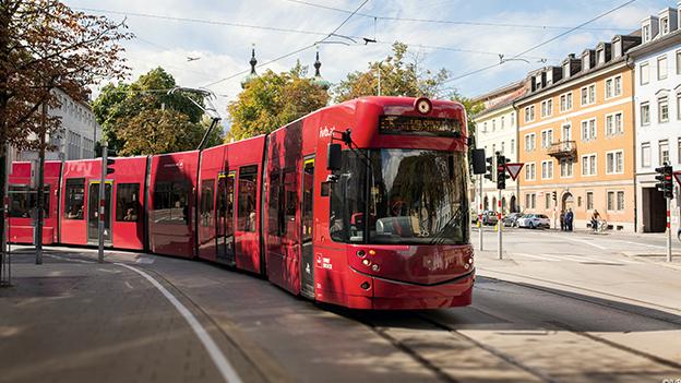 Innsbrucker Verkehrsbetriebe Bus Straßehnbahn IVB