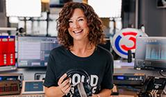 Sandra König im Ö3-Studio