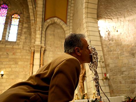 Reliquie der Krippe Jesu kehrte ins Heilige Land zurück