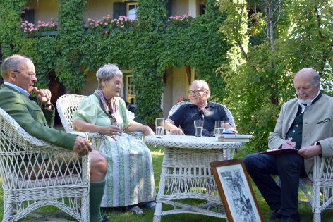 Torberg und die Berge Dr. Rainer Hilbrand, Ursula Kals-Friese, Klaus Maria Brandauer.