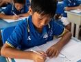 Buben in einer chinesischen Schule