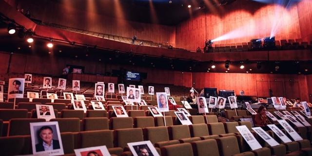 Vorbereitungen zur Preisverleihung der European Film Awards EFA