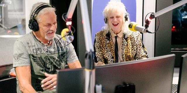 Thomas Spitzer und Ankathie Koi im FM4 Studio