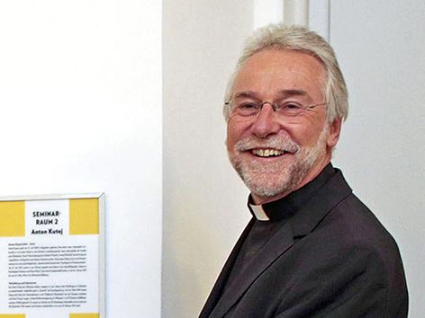 Der designierte Bischof von Kärnten, Josef Marketz