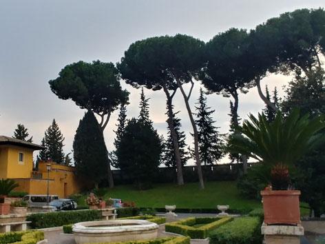 Vatikan Garten