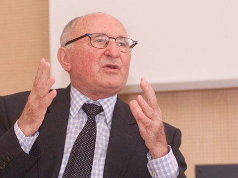Der Theologe Johann Baptist Metz 2001
