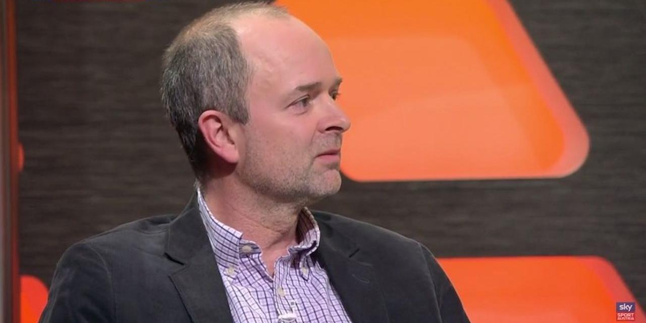Michael Fiala bei einer Fernsehdiskussion auf Sky Sport Austria