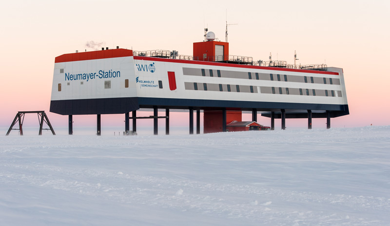 Forschungsstation Neumeyer in der Antarktis