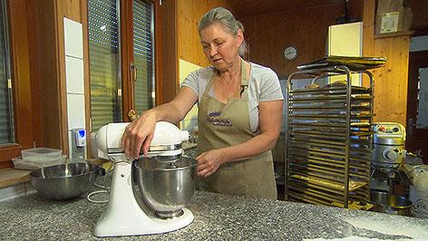 Bäckerin Waltraud Kedl