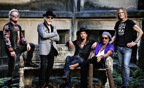 Band Aerosmith Konzert