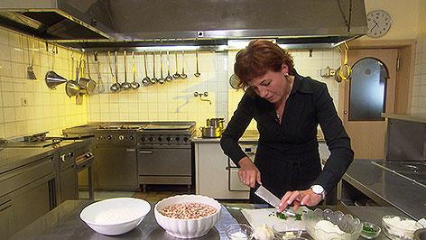 Anita Wehofer kocht Bohnensterz