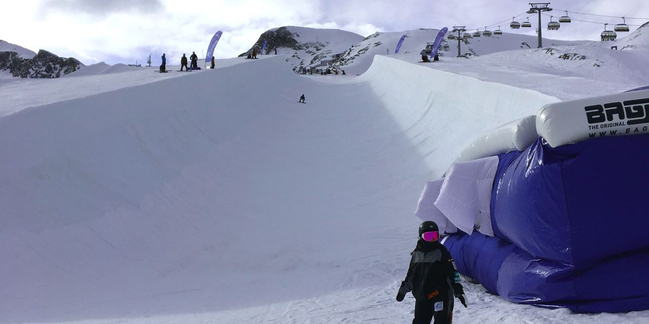 Die Superpipe in Kaprun