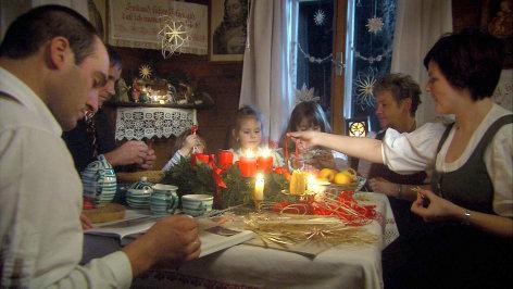 Weihnachten in den steirischen Alpen