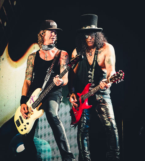 Guns N Roses Slash Duff