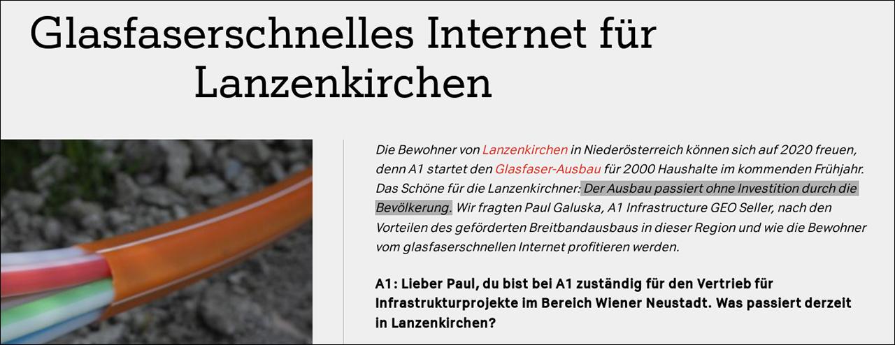 Screenshot A1-Website