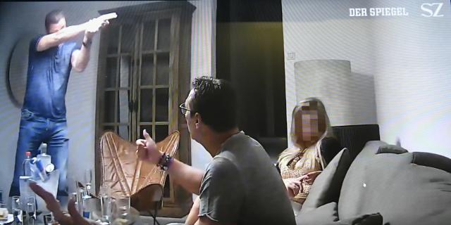 Ein Ausschnitt aus dem Ibiza-Video