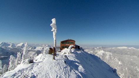 10.12.19 orf3 Land der Berge Hochwinter - Zwei Hütten in den Allgäuer Bergen 111219