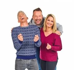 Ö3-Weihnachtwunder - Gabi Hiller, Andi Knoll und Robert Kratky