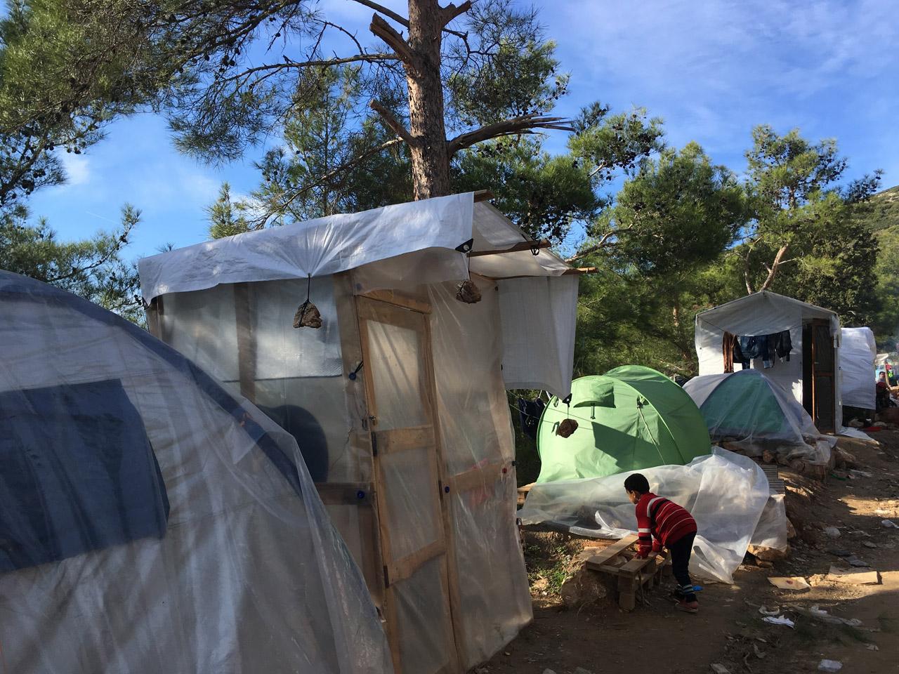 Flüchtlingslager Samos