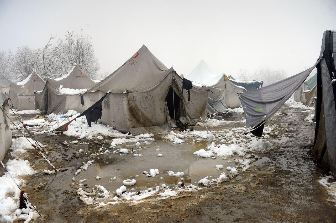 Erschütternde Bilder aus dem Flüchtlingslager Vucjak