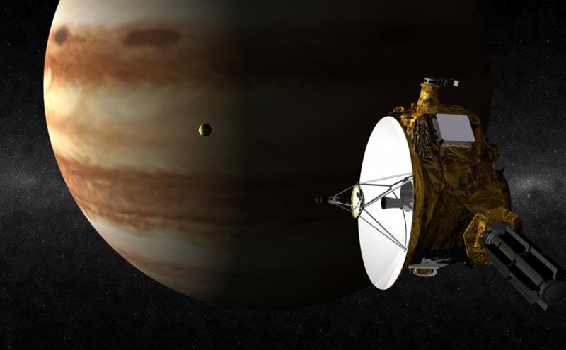 New Horizons kommt auf seiner Reise Richtung Pluto an Jupiter vorbei (2007)