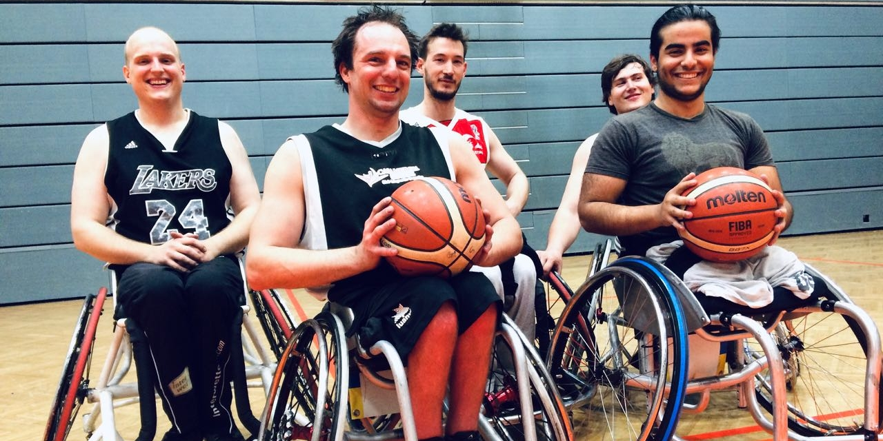 Rollstuhlbasketball Training Sitting Bulls Klosterneuburg